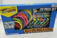 Splash Bombs Dizzy Dive Rings & Sticks Huge 20 Piece Set Free Shipping