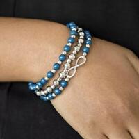 Paparazzi ~Immeasurably Infinite~ Blue Bracelets!