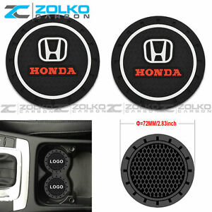 COASTER 2PC 2.75'' SILICONE CAR CUP HOLDER AUTO INSERT - US SELLER