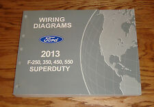 Original 2013 Ford F-250 350 450 550 Super Duty Wiring Diagrams Manual 13