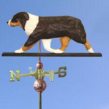 Australian Shepherd Hand Carved Hand Painted Basswood Dog Weathervane Tri