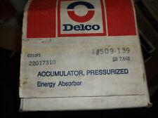 GM# 22017310 1975-78 CHEVROLET CORVETTE REAR BUMPER ABSORBERS QNTY 2 DELCO # 509