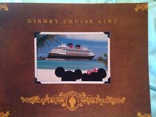 Large Disney Cruise Line Picture Photo Folder Holders - Vacation Memories