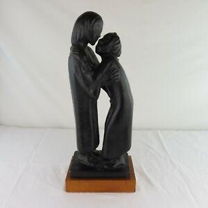 "Ernst Barlach ""The Reunion"" MPI Sculpture c1960 Composition Great Shape"