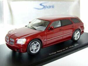 Spark S0851 1/43 2005 Dodge Magnum RT Hemi Resin Model Car