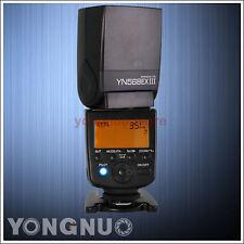 YONGNUO YN-568EX III Flash Speedlite TTL Master High-Speed Sync 1/8000s fr Canon