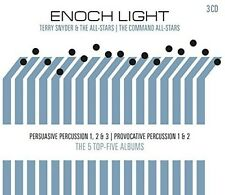 Persuasive & Provocative Percussion - 3 DISC SET - Enoch Light (2017, CD NEUF)