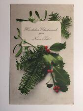 Vintage Postcard - Stuttgart # 640 - Christmas Greetings - 1907