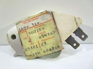 NOS GM BUZZER 459387 PONTIAC CHEVROLET BUICK OLDSMOBILE