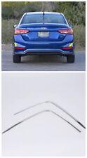 Rear Bumper Corner Decoration Cover Trim for Hyundai Accent Solaris Verna 18-19