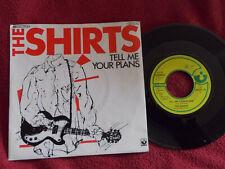 The Shirts - Tell me your plans / Cyrinda   Top German EMI 45
