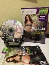 Jillian Michaels Fitness Adventure (Microsoft Xbox 360, 2011) Complete CIB