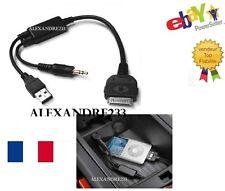 Cable adaptateur iphone ipod pour BMW X1