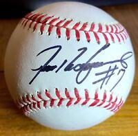 Ivan Rodriguez 'Pudge' Autographed Signed MLB Baseball Photo Authentication