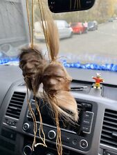More details for genuine skin and hair shrunken head from ecuador oddity random ready to hang