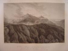 Grande gravure Colonel RAMPON défend redoute de MONTELEGINO  Bataille Montenotte