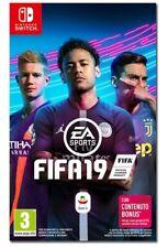 VIDEOGIOCO FIFA 19 NINTENDO SWITCH ITALIANO - VIDEOGAME FIFA 2019 GIOCO PAL