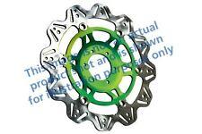 ADATTA KAWASAKI ZX 10 R (ZX 1000 E8F/E 08>10 EBC VR Disco Freno Verde Mozzo