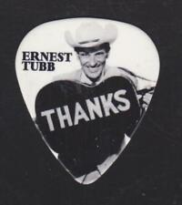 RaRe ERNEST TUBB THANKS GUITAR PICK NASHVILLE TENNESSEE COUNTRY MUSIC CITY USA