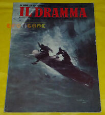 IL DRAMMA 1958 n. 257 - Copertina Rodolfo Claudus - Opere: vedi inserzione