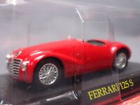 Ferrari Collection 125 S 1/43 Scale Box Mini Car Display Diecast vol 16