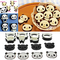 12Pcs Panda Cookie Cutter Mould Biscuit Super Kawaii Cute Pastry Baking Mold Set