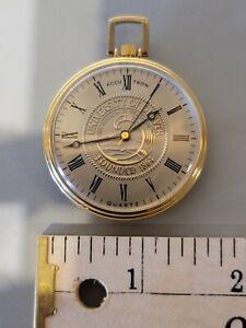 1960's University of Denver Bulova Accutron Pocket Watch in working condition