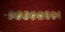 India Pot Metal Bracelet Elephant Saber Hamsa Star Trinket Souvenir Bracelet