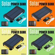 Waterproof 300000mAh USB Portable Solar Charger Solar Power Bank for Phone