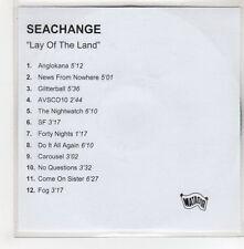 (GH698) Seachange, Lay of the Land - DJ CD