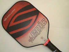 ALL NEW SELKIRK AMPED X5 EPIC PICKLEBALL PADDLE FIBER FLEX  RUBY RED