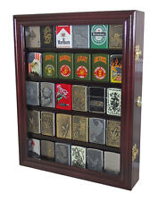 Sport Zippo Cigarette Lighter Display Case Wall Cabinet, Lockable, Lc30-Mah