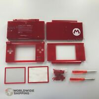 Kit complet coque + écran / NINTENDO DS LITE EDITION Red Mario / Shell Case New