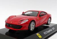 Altaya 1/43 Scale Model Car AL12220 - 2017 Ferrari 812 Superfast - Red