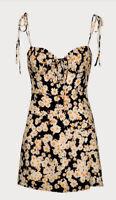 REALISATION PAR The Devon Silk Lined Mini Dress. Size XXS. EUC