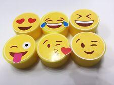 6 Emoji Soaps  - Funny Gifts Adult Teen Kids Birthday  Christmas Stocking Filler