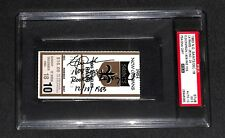 ERIC DICKERSON ROOKIE RUSHING 1808 YARDS RECORD SIGNED 12/18/1983 TICKET PSA/DNA