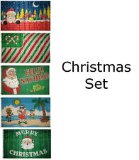 3x5 Merry Christmas Happy Holidays #3 5 Flag Wholesale Set 3'x5' House Banner