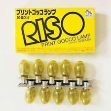 RISO Print Gocco mesh Master 10 Flash Light Lamp bulb Screen printer