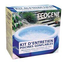 KIT D'ENTRETIEN PETITE PISCINE GONFLABLE HORS SOL chlore granulé anti algues