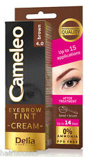 Delia Cameleo Dark Brown Eyebrow Tint Cream 15ml