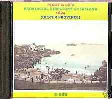 GENEALOGY DIRECTORY OF IRELAND ULSTER PROVINCE 1824 CD