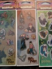 Lot 4 Of Harry Potter Stickers All Night Media New In Packaging 5/2001