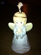 Porcelain pastel color ANGEL OIL LAMP