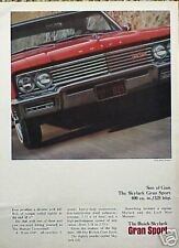 1965 65 Buick Skylark Gran Sport ORIGINAL Vintage Ad  C MY STORE   5+= FREE SHIP