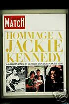PARIS MATCH Jackie Kennedy Dallas Meilhac Halevy