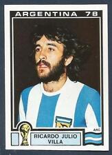 PANINI WORLD CUP STORY #104--MUNICH 74-ARGENTINA 78-ARGENTINA-RICARDO VILLA