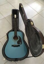 Epiphone Ltd Ed Pelham Blue DR100 FB Acoustic w/ OHSC - New Old Stock - Free S/H