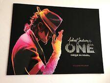 Michael Jackson ONE Cirque Du Soleil Souvenir Program