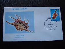 POLYNESIE FRANCAISE - enveloppe 1er jour 13/4/1978 (B7)
